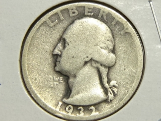 1932-D Washington Quarter G4