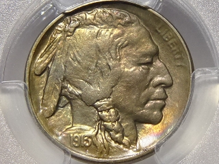 1913-S T-2 Buffalo Nickel MS64 PCGS Gold Shield