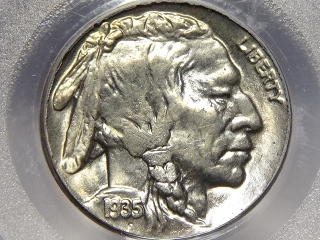 1935-D Buffalo Nickel MS65 PCGS