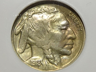 1918-S Buffalo Nickel MS63 NGC