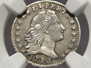 1795 Half Dime XF Details NGC