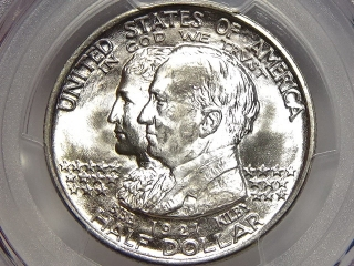 1921 Alabama Commemorative MS66 PCGS