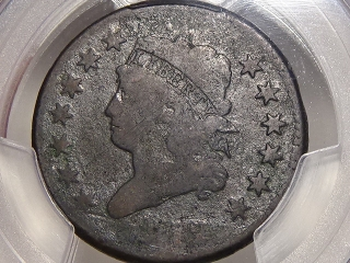 1812 Large Cent G Detail PCGS Small Date