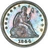 SEATED QUARTERS (1838-1891)